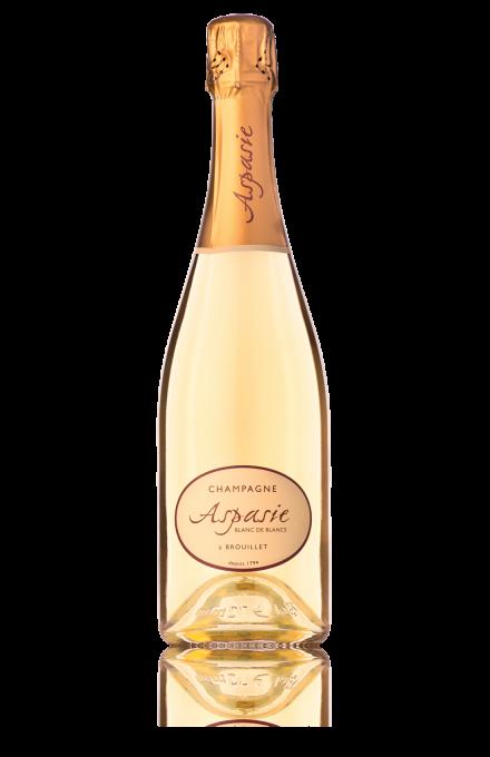 Champagne Blanc de Blancs du vigneron indépendant Aspasie