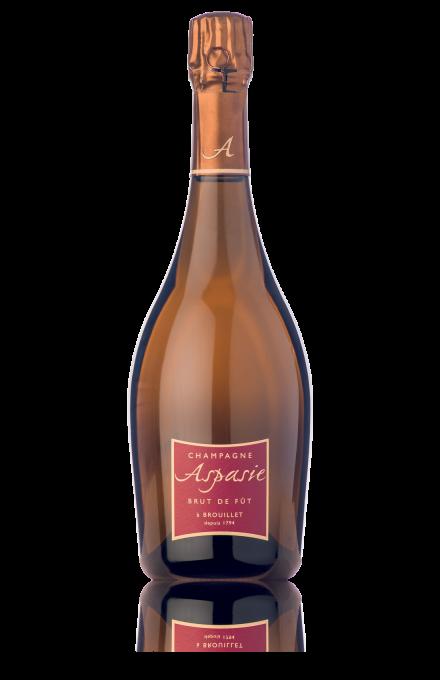 Champagne Brut de fût Aspasie en direct du producteur