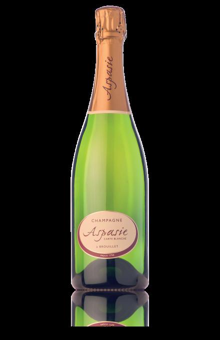 Champagne Carte Blanche du vigneron indépendant Aspasie