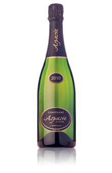 Champagne Millésime 2010 du vigneron indépendant Aspasie