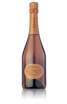 Champagne Rosé Aspasie en direct du producteur