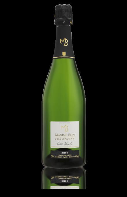 Champagne brut carte blanche en direct du récoltant Maxime Blin