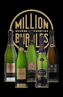 Coffret Millésime Million Bubbles, l'idée cadeau