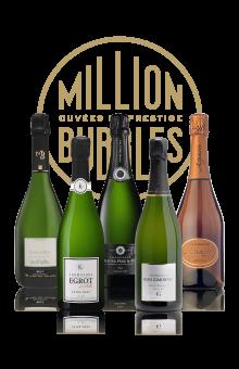 Coffret champagne terroir authentique cuvée de prestige