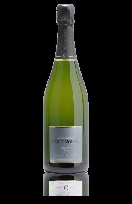 Champagne Réserve brut en direct du producteur Jean Gimonnet
