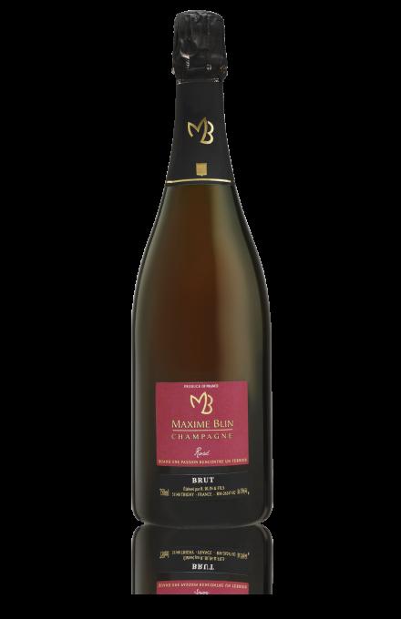 Champagne rosé en direct du producteur Maxime Blin