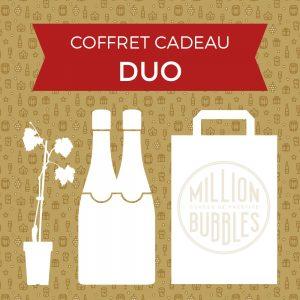 Coffret cadeau DUO champagne de vignerons indépendants
