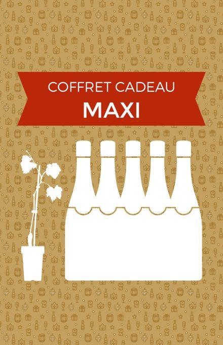 Coffret cadeau MAXI champagne de vignerons indépendants