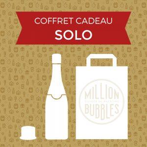 Coffret cadeau SOLO champagne de vignerons indépendants